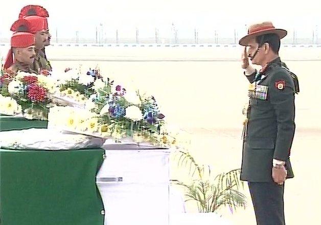 mortal remains of 9 siachen martyrs to reach delhi