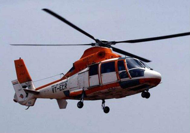 chopper crash bodies of three occupants spotted