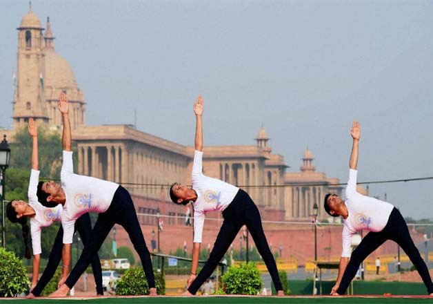 Yoga Day Security Arrangements At Par With Republic Day Event Indiatv News India News India Tv