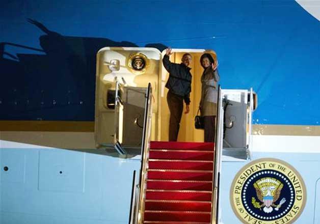 barack obama leaves us for india taj visit cancelled