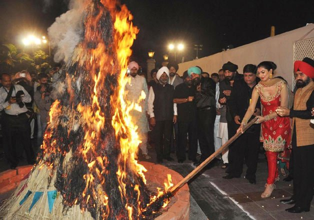 know why lohri the bonfire festival is celebrated