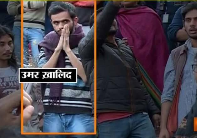 jnu row accused umar khalid anirban surrender to delhi