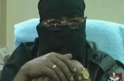 officer fighting maoists hides face slams govt