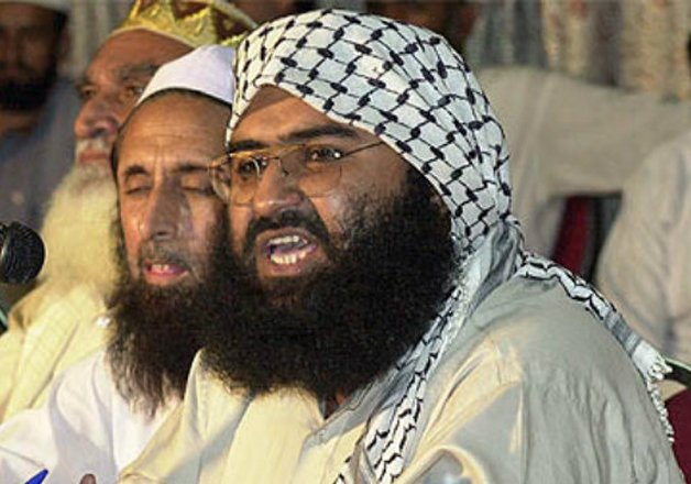 masood azhar in custody says pak puts talk ball in india s