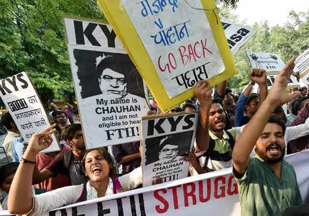i b panel slams students faculty defends ftii administration