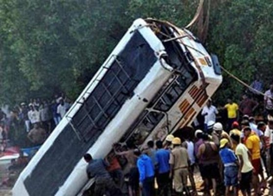 nine dead in road accident in assam