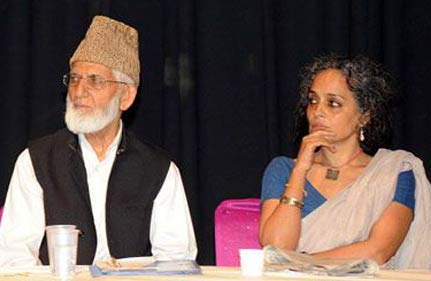 court orders lodging of fir for sedition against geelani roy