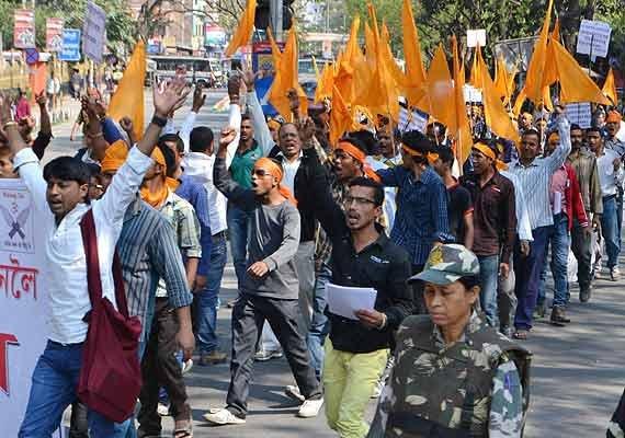 70 bajrang dal supporters arrested during assam bandh