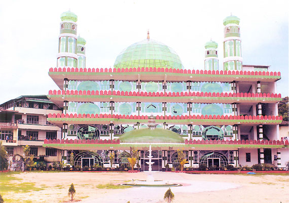 india s first glass mosque in shillong