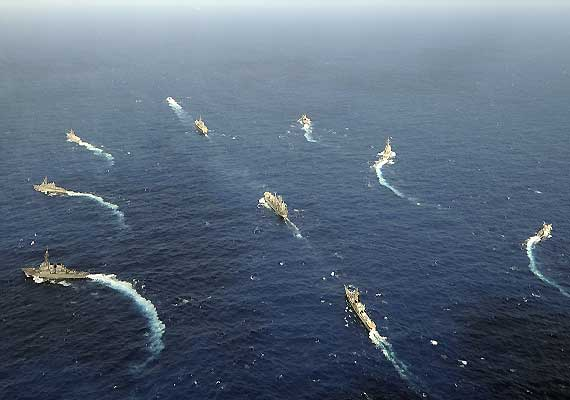 indian and japanese navies to train together for the first