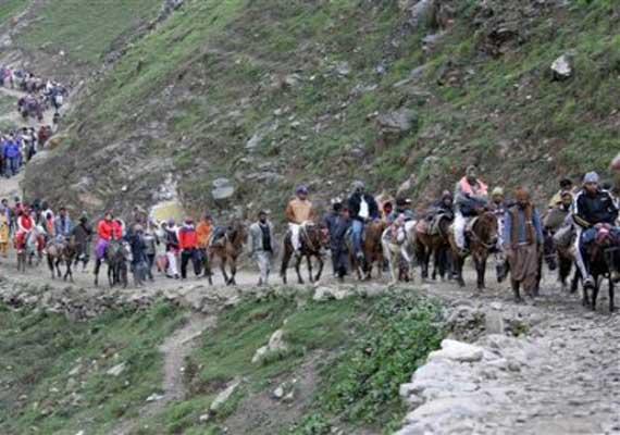 j k govt has no plans to build road to amarnath shrine
