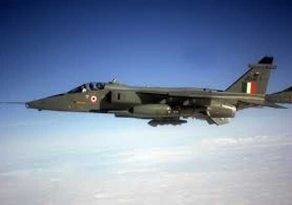 jaguar crashes in bikaner pilots safe