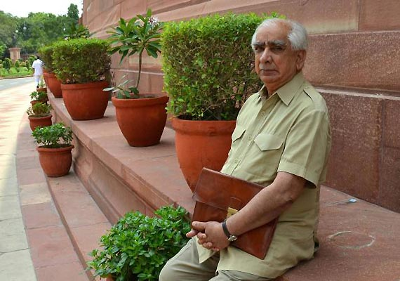 jaswant slams weak political leadership for poor budget