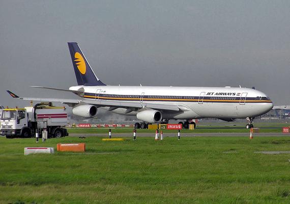 jet airways flight makes emergency landing to save child