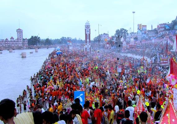 kanwar fair starts in uttarakhand