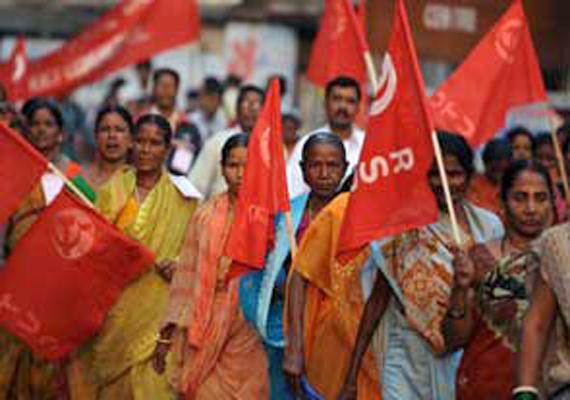 kerala shuts down because of nationwide strike