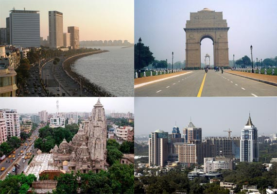 know the 10 most developed indian cities based on gdp