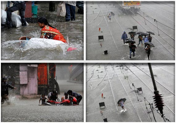 mumbai rains people asked to stay at home