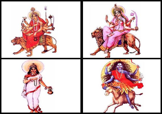 nine forms of goddess durga worshipped during navaratri