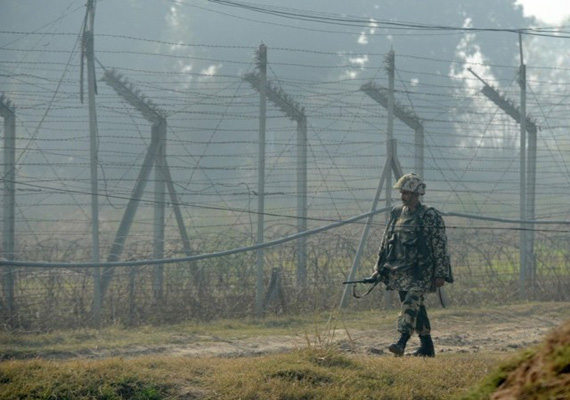 pakistani troops fire across loc in j k