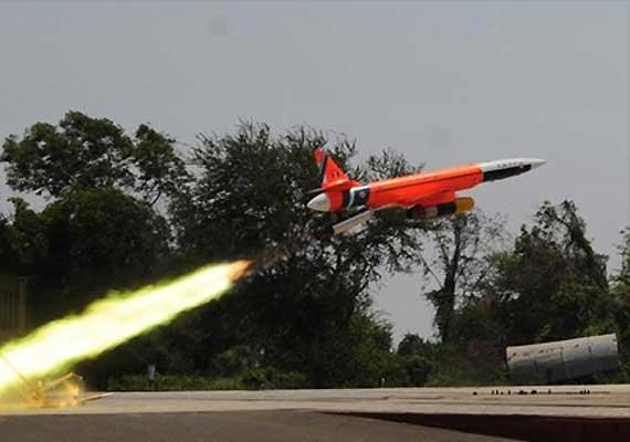 pilotless micro light aircraft lakshya 1 test flown