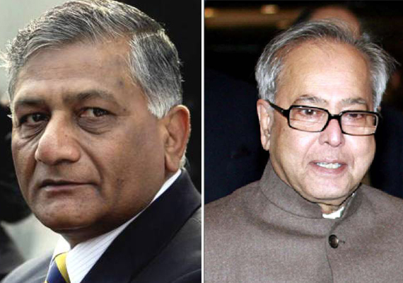 pranab downplays differences between army chief govt