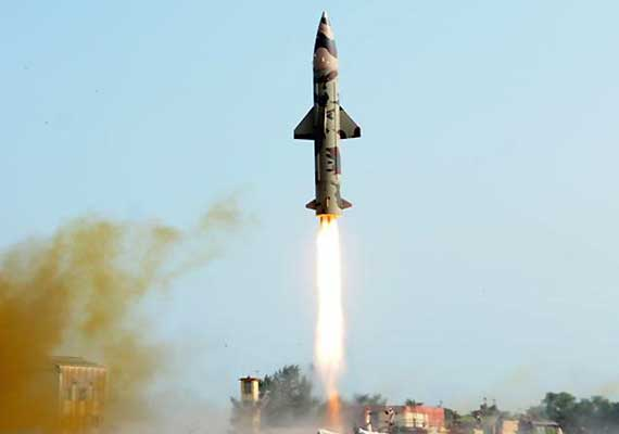 prithvi ii successfully test fired from itr