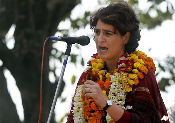 priyanka asks sp candidate to join congress