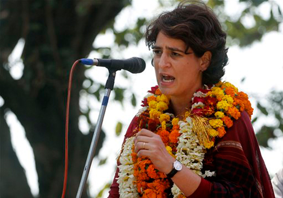 priyanka asks voters to change negative politics of up