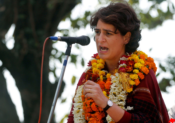 priyanka says people bored of poll promises
