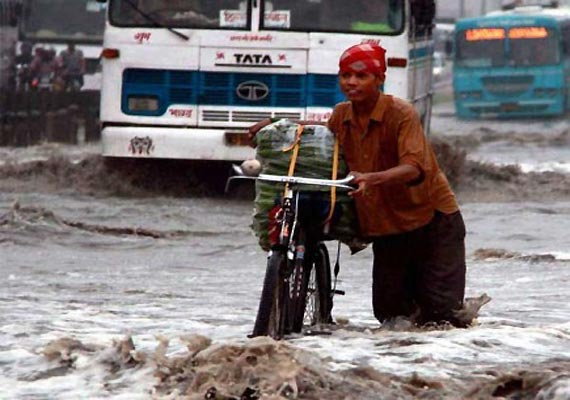 rains lash up several rivers flowing close to danger mark