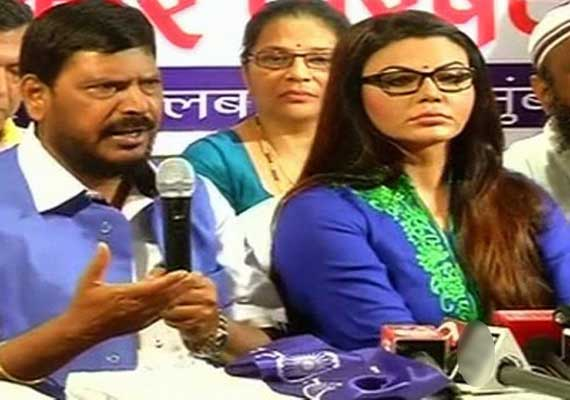 Bollywood actor turned poltician Rakhi Sawant after she