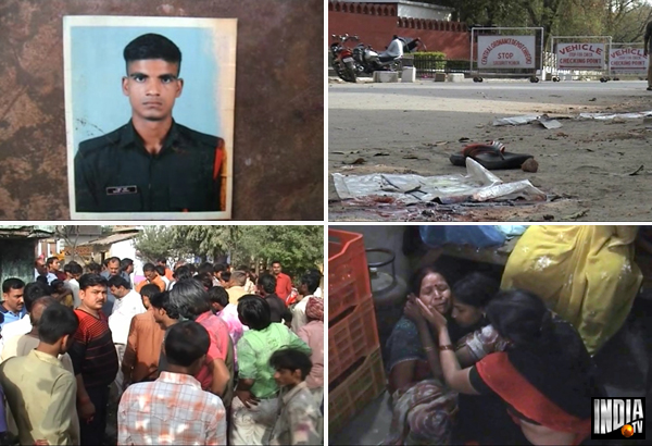 sp worker held after two persons were shot in allahabad