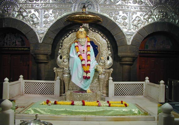 saibaba temple receives rs 4.2 crore within 3 days