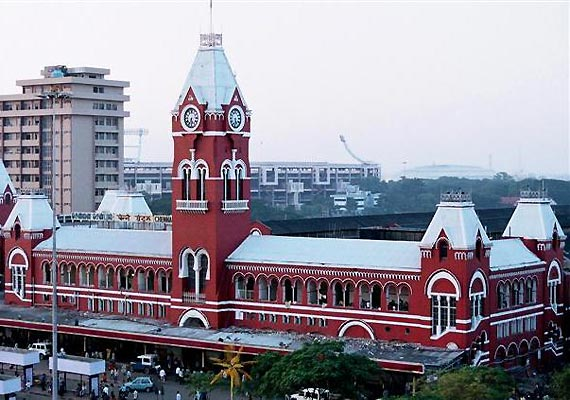 security stepped up at chennai central after hoax bomb call