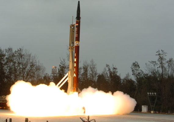 stage set for agni 5 test launch