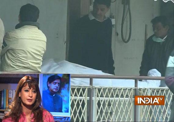 sunanda pushkar to be cremated today