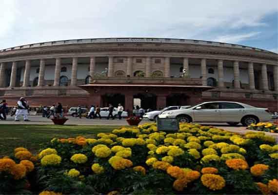 telangana issue disrupts parliament