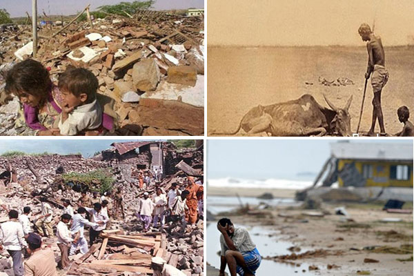 ten big disasters that shook india