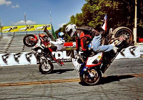 thrill excitement or insanity what drives bikers to perform