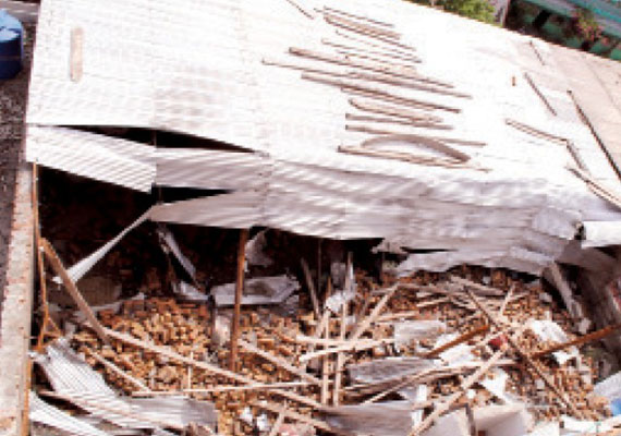 two labourers killed in house collapse