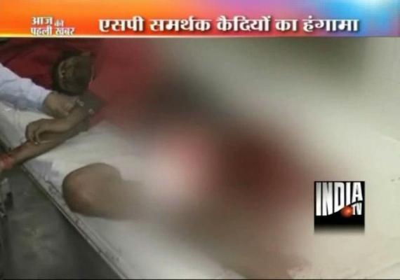 two prisoners killed in clash between sp workers warders