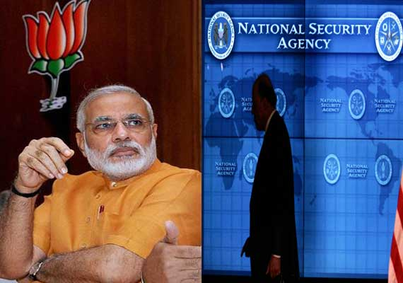 us authorised nsa to spy on bjp and six other foreign