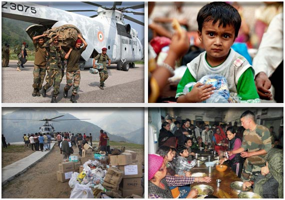 uttarakhand a month later relief down to a trickle
