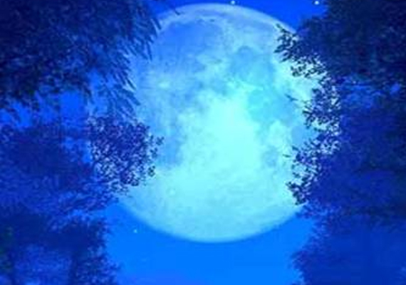watch the blue moon on friday night