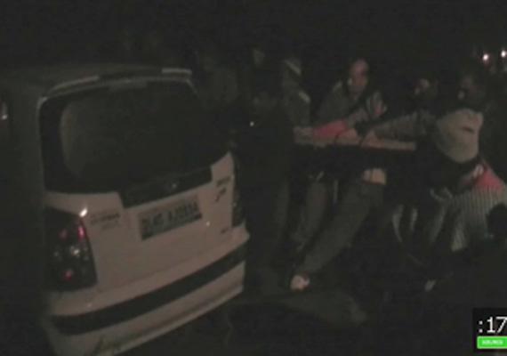 woman drowned as car falls into delhi s bawana canal