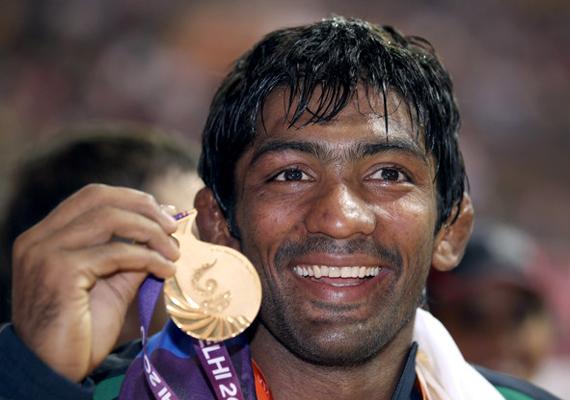 wrestlers amit yogeshwar qualify for london olympics sushil