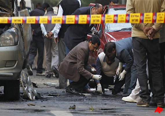blast material had traces of potassium chlorate nitrate