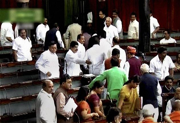 15 cong mps 12 allies mps absent as constitutional