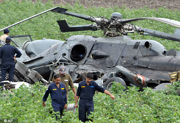 nine killed as two iaf choppers collide mid air